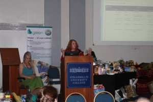 First Citizen of Belfast, Lord Mayor Naomi Long, speaking at ASAP World