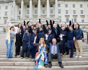 Northern Ireland schools support Baglady