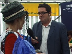 BBC Radio Ulster's  John Toal last interview with Baglady