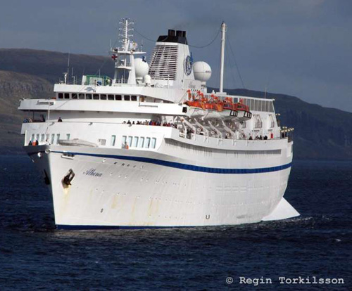 Travel ASAP to Australia ship 'Athena'